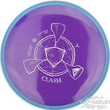New Purple Neutron Clash Stable Fairway Driver 169g Axiom Disc Golf Blue Ring