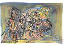 Künstlerische Aquarelle (1950-1999)