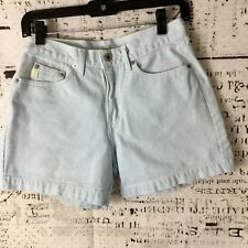 Vintage Guess Jean Shorts Size 27 High Waist Light Wash