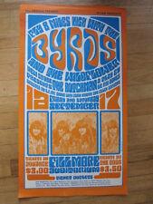 BYRDS Dutchman Le Roi Jones 1966 Wes Wilson Fillmore poster BG28 1st print