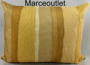 "Donna Karan Home Gilded Sheer Layered 16"" X 20"" Decorative Pillow Gold"
