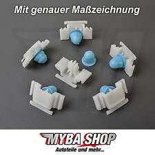 25x ZIERLEISTENKLAMMER M-TECHNIK KLAMMER CLIPS FÜR BMW E36 TÜLLE 51132251394 NEU