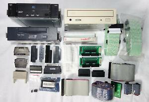 SCSI Konvolut - Laufwerke Adapter Kabel Terminatoren + XM-6401B V2000Si SDX-550V