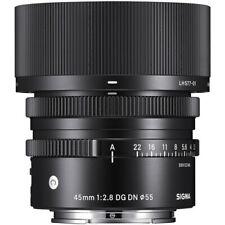 Sigma 45mm f/2.8 DG DN Contemporary Lens for Sony E *USA AUTHORIZED DEALER*