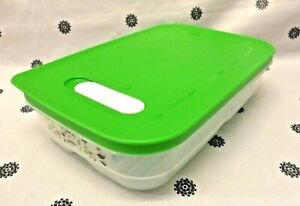 New Tupperware Green Ventsmart Medium Low 1.8L Vegetable Storage Fridge Smart