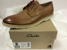 Clarks Gambeson Style Tan Leather Men's shoes, UK 9.5 / EUR 44