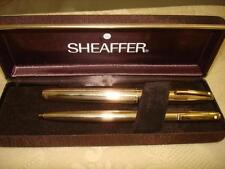 "SHEAFFER ""Imperial 777"" 12K Gold-Filled Fountain-Pen & Ball-Pen SET New in Box"