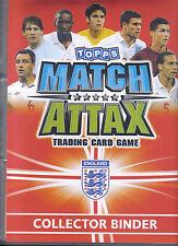 match attax 2010 world cup collector binder and international legends binder