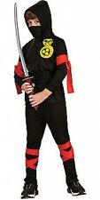 Fancy Dress Ninja Child Costume UK Small 3-4 Years