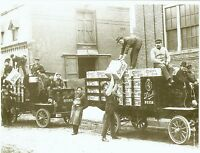 STROHS BEER TRUCK S DETROIT MICHIGAN STROH PREPRO ERA 8 X 10  Reprint photo