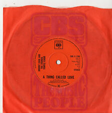 "Johnny Cash - A Thing Called Love 7"" Single 1972"