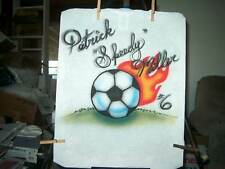 SOCCER Airbrushed T-shirts for the WHOLE TEAM All Sizes
