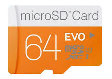 64GB SD C10 TF Flash Memory Card w/ SD Adapter Can as Disk For Phone Camera