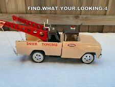 TONKA 1961   CUSTOM TWIN BOOM TOW TRUCK    (AWESOME CUSTOM)