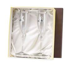 Calici 25 Anniversario Matrimonio Cristallo Argento Bilamina | Fedi | 2R argenti