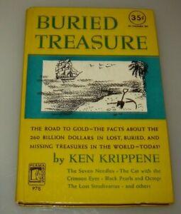 Buried Treasure 1st Edition Perma Books P78,by Ken Krippene 1950
