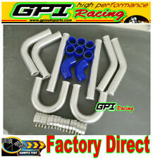 "UNIVERSAL TURBO BOOST INTERCOOLER PIPE KIT 2"" 51mm 8 PCS Aluminum PIPING"