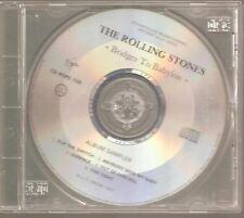 """THE ROLLING STONES """"Bridges To Babylon"""" Frankreich Promo CD Sampler 1997"""