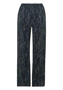 Hanro Lille Light Cupro Long Trousers Pants - Lounge- S UK10/12 £145 - New S21