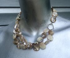 SILPADA Mother Of Pearl Sterling Silver Necklace