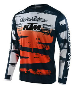 Troy Lee Designs 2021 Youth GP Jersey Brushed Team Navy/Orange All Sizes