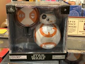 Deluxe Remote Control BB-8  Star Wars The Force Awakens Authentic Disney