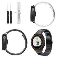 For Garmin Forerunner 735XT/235 Folding Clasp Stainless Steel Watch Band Strap