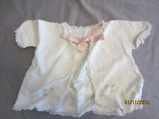 Vintage Baby Light Jacket with Pink Ribbon