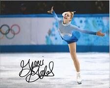 GRACIE GOLD SIGNED 8X10 PHOTO B w/COA USA FIGURE SKATING SOCHI OLYMPICS