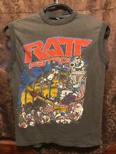 RATT ~ TRUE VINTAGE ~ 1984 Concert Tour ~ RATT PATROL ~ 2 Sided T Shirt