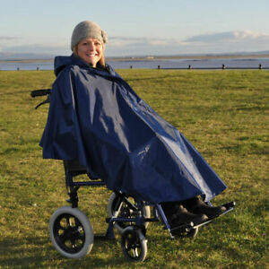 Splash Deluxe Wheelchair Poncho Lined - PR34027/D