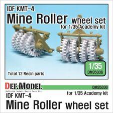DEF Model 1:35 IDF KMT-4 Mine Roller wheel set for Academy #DM35036