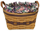 Longaberger May Series Petunia Basket 1997, Liner, Protector