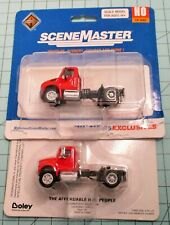 HO scale truck tractors, (2) Walthers, International