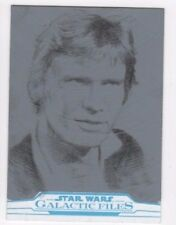 2017 Star Wars Galactic Files Reborn sketch card Kyle Babbitt