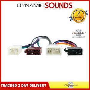 CT20TY01 Car Stereo Wiring Harness Adaptor ISO For Toyota Lexus Daihatsu