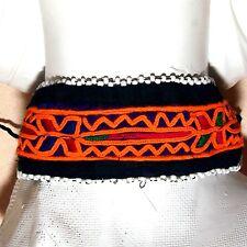 Belly Dance Bellydance Kuchi Tribal Embroidered CHOKER 798f4
