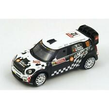 1/43 Mini John Cooper Works WRC Galp combustible Monte Carlo Rally 2012 A. Araujo