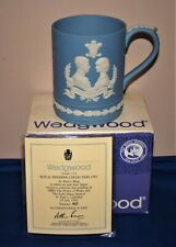 WEDGWOOD JASPERWARE 'ST PAULS' MUG ROYAL WEDDING 1981 CHARLES AND DIANA LTD EDTN