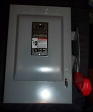 Siemens HNF361 30A Non-Fusible Heavy Duty Safety Enclosed Switch 600VAC/250VDC
