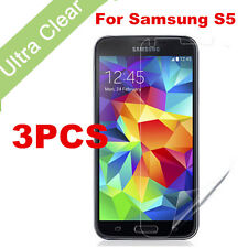 3PCS Anti-Scratch Ultra Clear Front Screen Protector Film For Samsung Galaxy S5