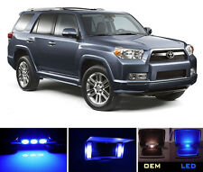 Blue Vanity / Sun visor  LED light Bulbs for Toyota 4 Runner (4 pieces)