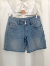 Just Jeans Denim Shorts, 10, Light Blue, Stretch, Great Condition