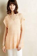 New Anthropologie Hooded Pointelle Pullover Sz XXS Petite NIP Sweater by Moth