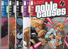 NOBLE CAUSES LOT OF 5 - #16 #17 #18 #19 #20 (NM-) IMAGE COMICS