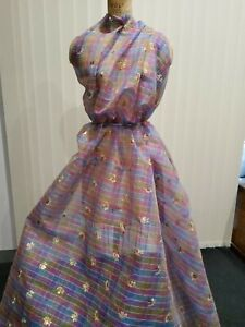 Swiss magnificent couture fabric, Exclusive Jacob Schlaepfer. Very last piece.