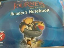 Journeys : Common Core Reader's Notebook Consumable Collection Volume 1 and 2
