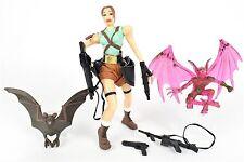 "Tomb Raider LARA CROFT 5"" Complete Action Figure Toy Biz 1997"