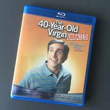 The 40-Year-Old Virgin [Unrated, Blu-ray Disc, 2008, Canadian, Bilingual]