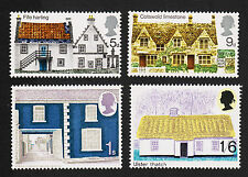 1970 British Rual Architecture Set Sc#608-611 Mint Never Hinged VF 17062